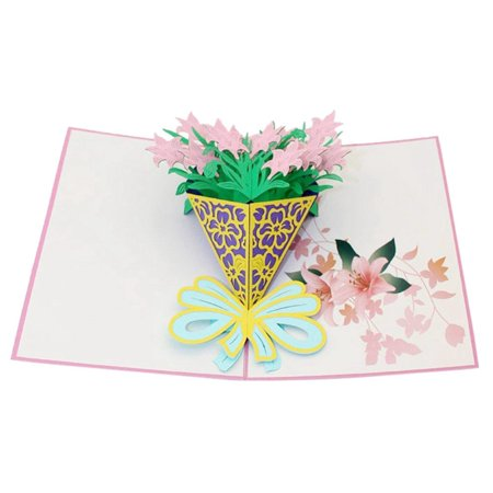 Thzy 3d Pop Up Cards Valentine Birthday Anniversary Gift Greeting