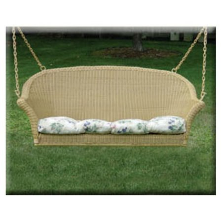 Darby 4 Ft Resin Wicker Porch Swing