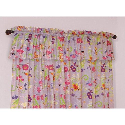 Room Magic Magic Garden Cotton Rod Pocket Curtain Panels  (Set of 2)