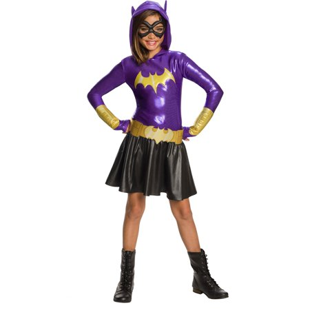 Dc Super Hero Girls Batgirl Hoodie Dress (Super Hero Outfit)