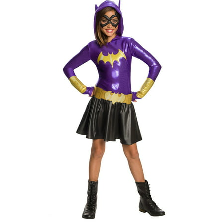 Dc Super Hero Girls Batgirl Hoodie Dress - Batgirl Costumes For Girls