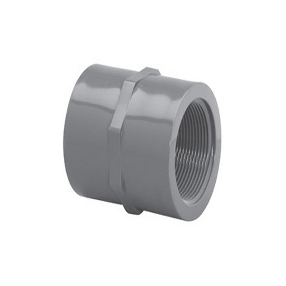 """Lasco 830-020 2""""FPT Schedule 80 PVC Coupling 830-02"""