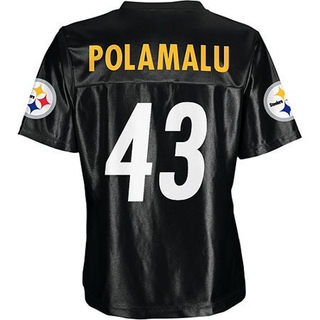 NFL - NFL - Women s Pittsburgh Steelers  43 Troy Polamalu Jersey ... 452a90d8a