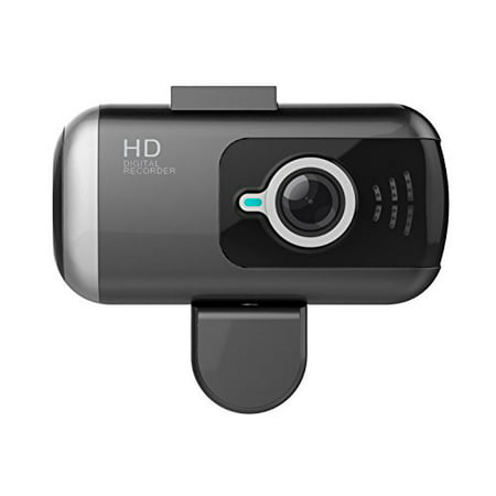Black Box DV2 Dual Lens GPS Dash Camera - Full HD 1080P Covert Mini Video Car DVR - 170° Super Wide Angle 6G Lens with G-Sensor, WDR Night Vision, Motion Detection (64GB