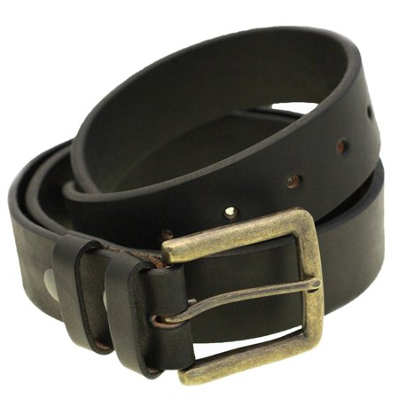 8f81ece9aada4 Orion Leather - Mens 1 1/2 Wide Black Bridle Leather Belt Square ...