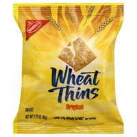 Nabisco Wheat Thins Crackers, Original, 1.75 oz Bag, 72/Carton