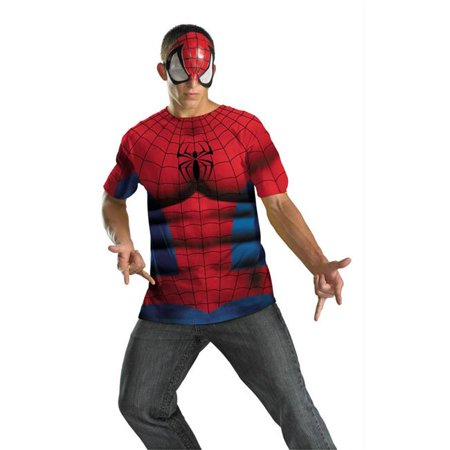 Costumes For All Occasions Dg21287C Spiderman Alt No Scars 50-52](Spiderman Cosplay For Sale)