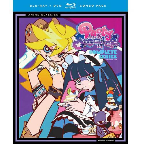 Panty & Stocking With Garterbelt: Complete Series Classic (Japanese) (Blu-ray + DVD)