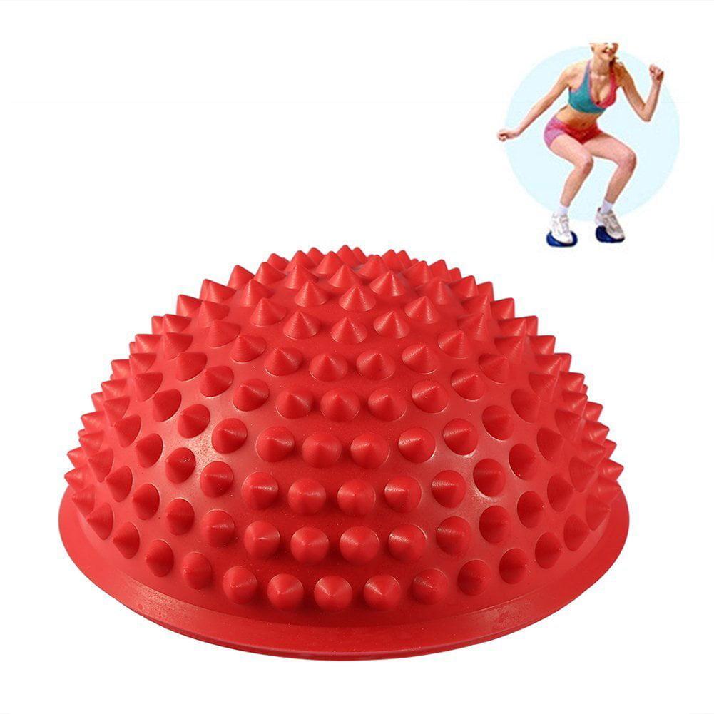Balance Pods Set, 2Pcs Inflatable Balance Cushion Exercise Ball for Fitness, Stability, Balance & Yoga by
