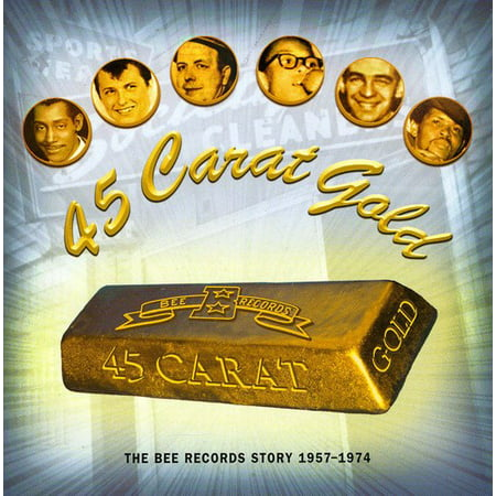 45 Carat Gold-The Bee Records Story 1967-1974 / Various - Custom 45 Records