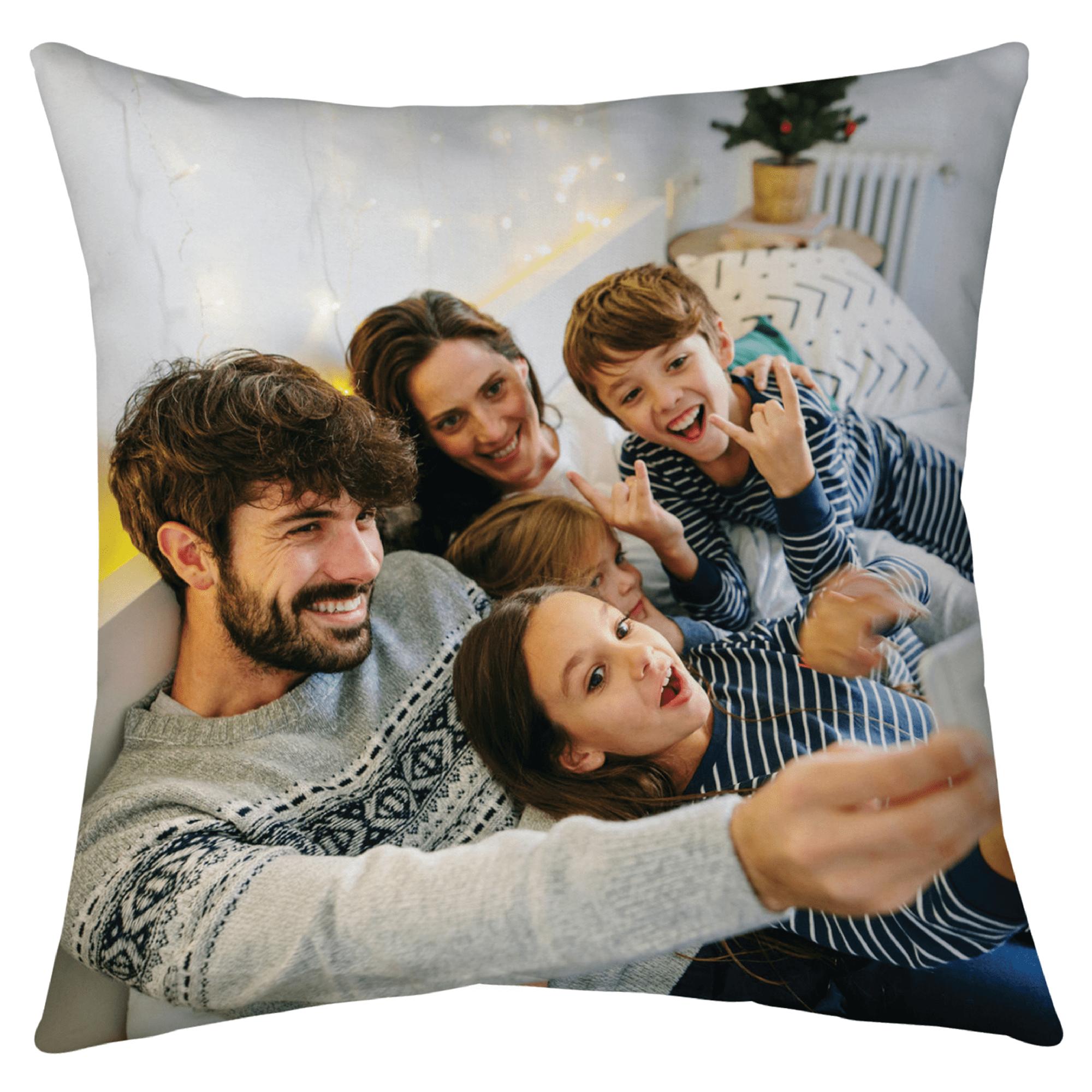 16x16 Photo Throw Pillow with Hidden Zipper
