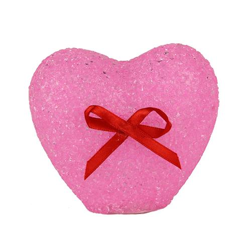 Lighted LED Battery Operated Color Changing Pink Heart Valentines Decoration