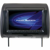 Power Acoustik 9-In Universal Replacement Headrest with DVD Player