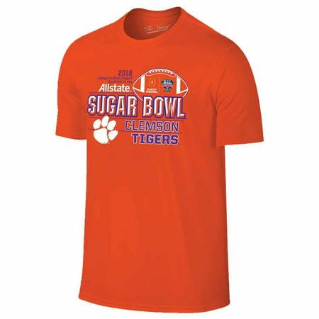 Clemson Tigers Adult NCAA 2018 Sugar Bowl Team T-Shirt  - Orange