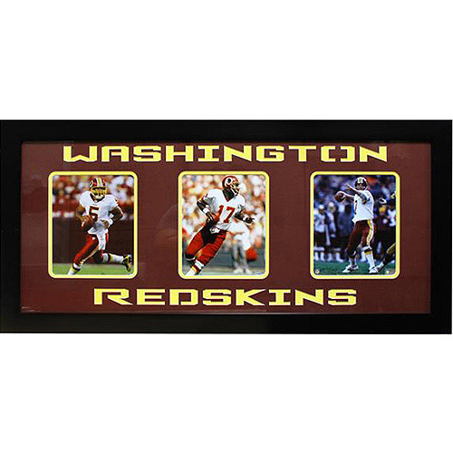 NFL Washington Redskins 3-Photo Frame, 15x35