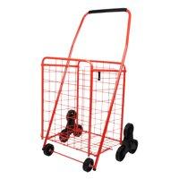 Helping Hand 3 Wheel Stair Climbing Cart Red