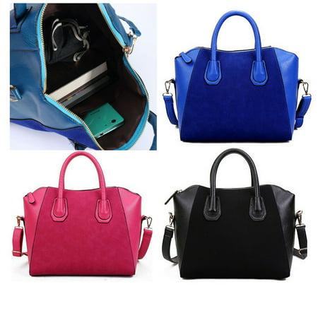 Meigar Chic Women Leather Large Handbags Shoulder Bag