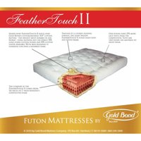 Product Image Gold Bond Feather Touch 7 Futon Mattress