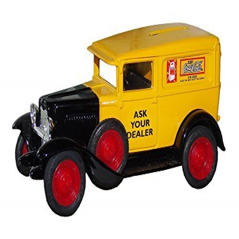 Coca-Cola Diecast Ertl 1930 Chevy Delivery Truck Bank 1:4...