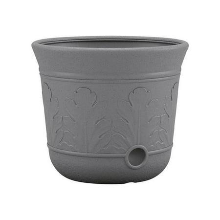 - 300 ft. 300 ft Free Standing Decorative Hose Pot, Gray