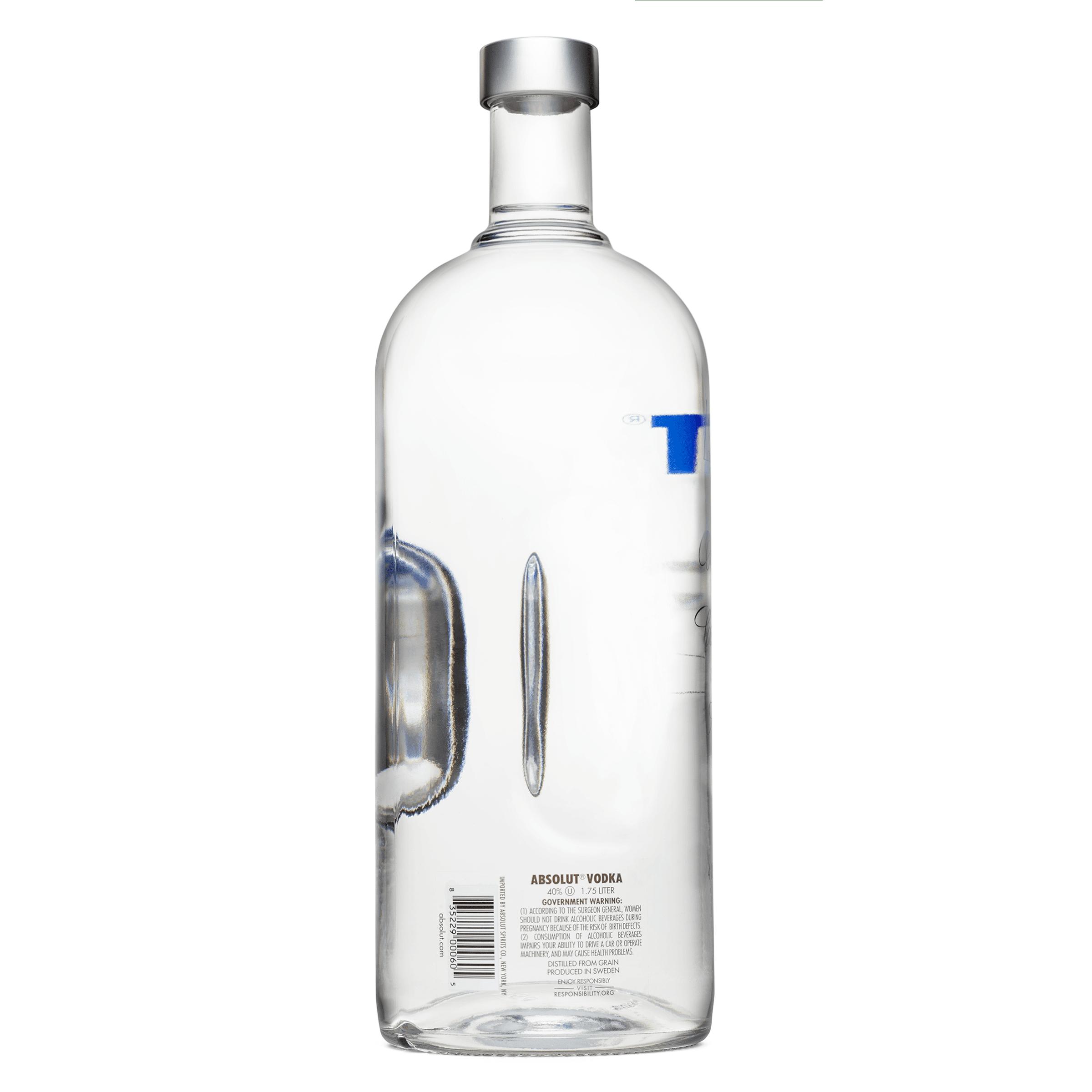 Absolut Vodka Sweden Original 1 75L Bottle
