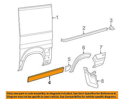 14-18 RAM PROMASTER EXTERIOR RIGHT SIDE SLIDING DOOR HANDLE OEM NEW MOPAR