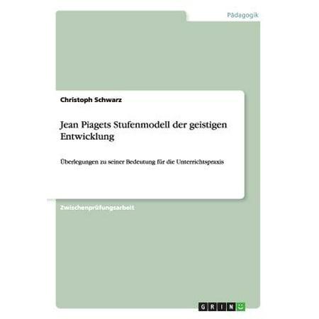 Jean Piagets Stufenmodell Der Geistigen Entwicklung (Denim Schwarz)