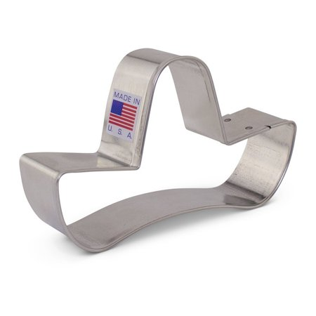 Sombrero Cookie Cutter for Mexican Fiesta / Cinco de Mayo - Ann Clark - 4.125 Inch - US Tin Plated Steel