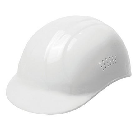 19111 67 Bump Cap, White, Molded from high density polyethylene By ERB - Molded Polyethylene Bump Cap