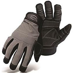 Boss 7283153 5204L Mechanics Mesh Back with PVC Glove, Large