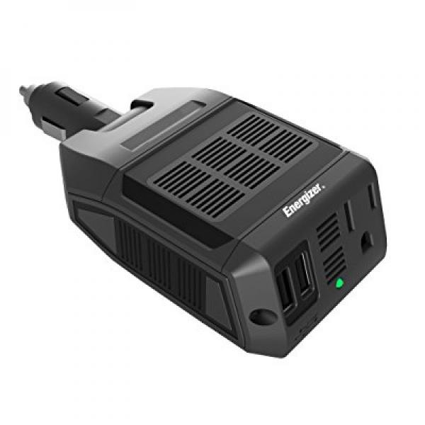 Energizer EN100 Ultra Compact DC to AC 100W Direct Plug-i...