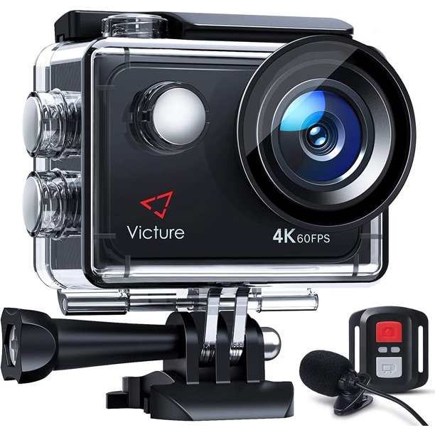 Victure 4K 60FPS Touch Screen Action Camera