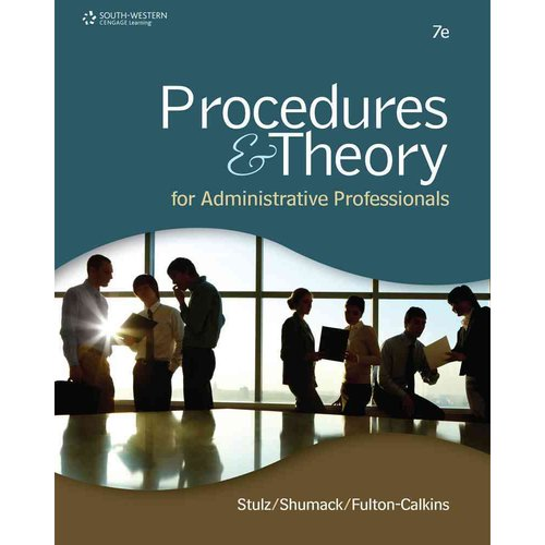 Procedures & Theory for Administrative Professionals