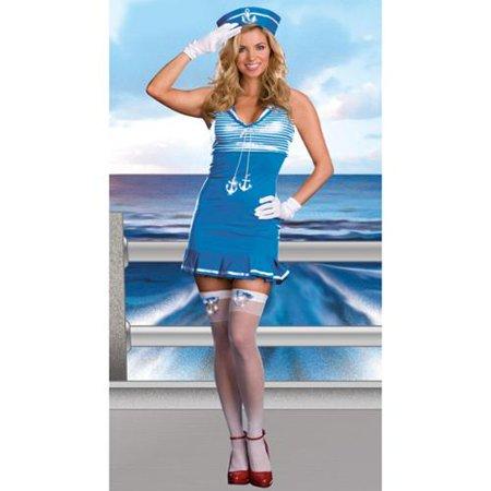 Image of Sexy Nautical Cutie Sailor Dress Costume Adult