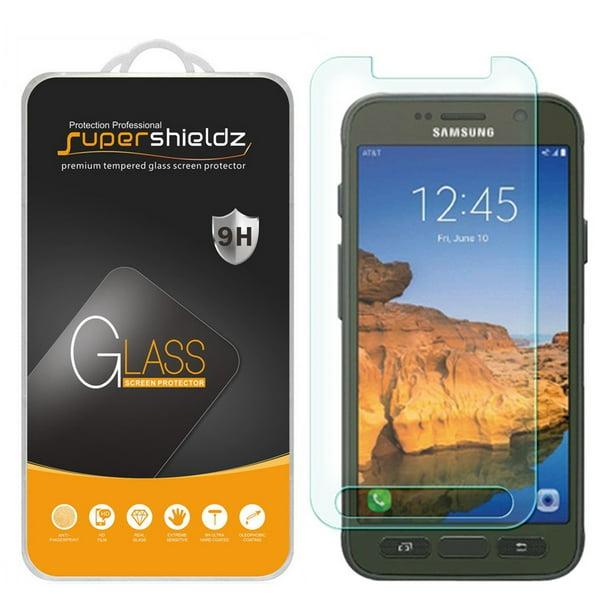 2 Pack Supershieldz For Samsung Galaxy S7 Active Tempered Glass Screen Protector Anti Scratch Anti Fingerprint Bubble Free Walmart Com Walmart Com
