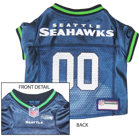 Pets First Seattle Seahawks NFL Dog Jersey - Extra Small