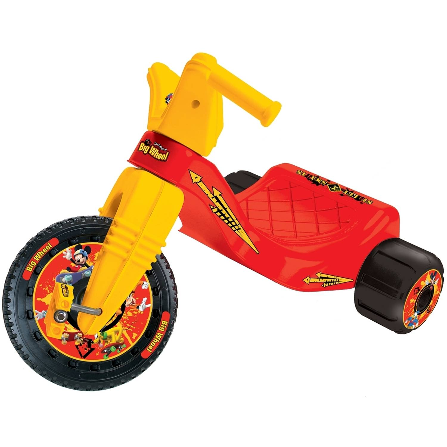 Disney Mickey Mouse Sk8 Park Big Wheel Junior Rider