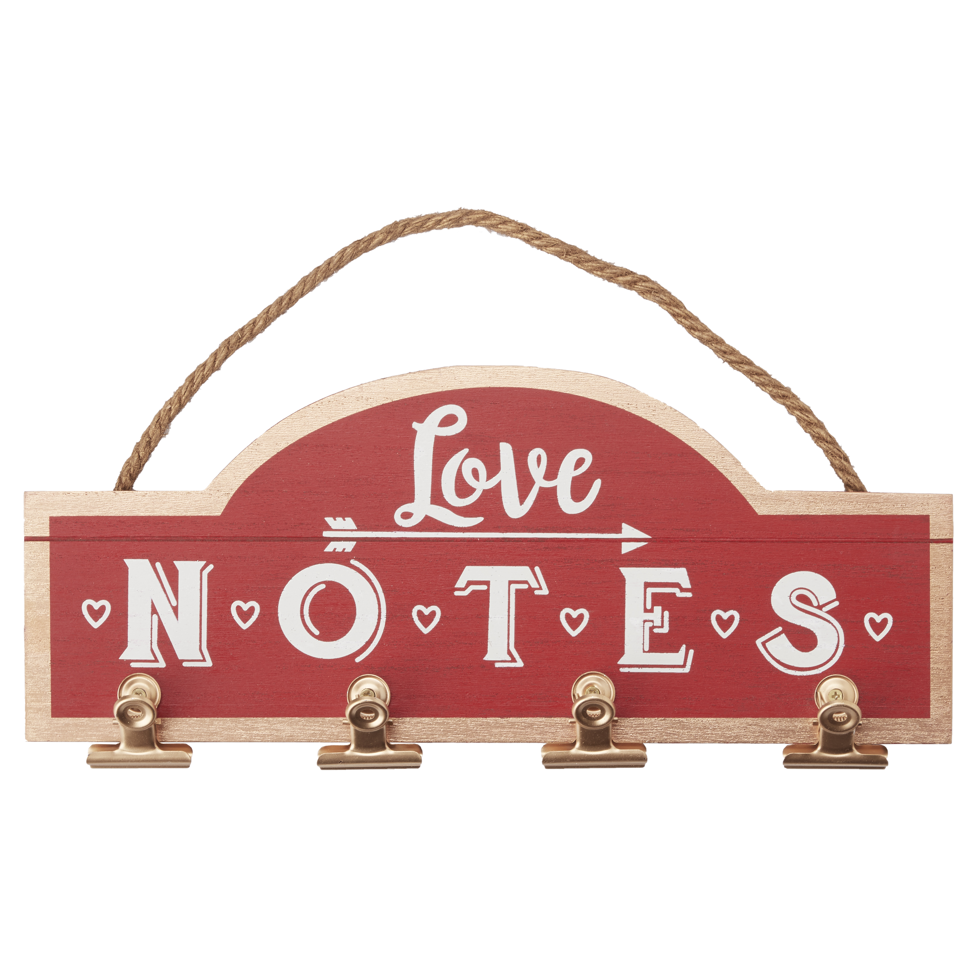 Way to Celebrate Valentine's Day Wall Hanging Decor, Love Notes