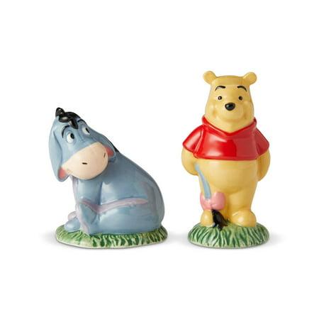 Enesco Disney Ceramics Winnie the Pooh and Eeyore Salt & Pepper New with (Enesco Homegrown Cat Salt)