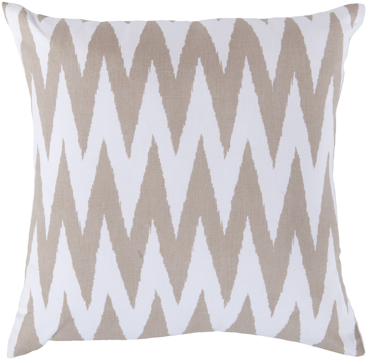 Surya Surya Pillows Area Rugs - LG527 Contemporary Safari Tan/White Chevron Zig Zag Stripes Rug