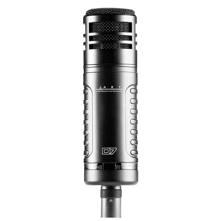 ART D7 Large Diaphragm Dynamic Microphone by