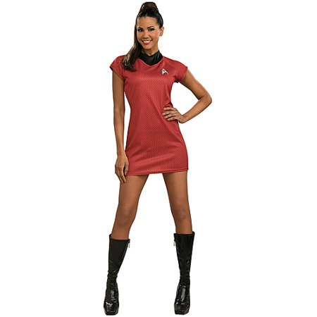 Movie Star Halloween Costumes (Star Trek Movie Red Halloween Dress)
