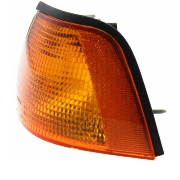 Corner Light Compatible with 1995 BMW 325i Plastic Amber Lens Passenger Side