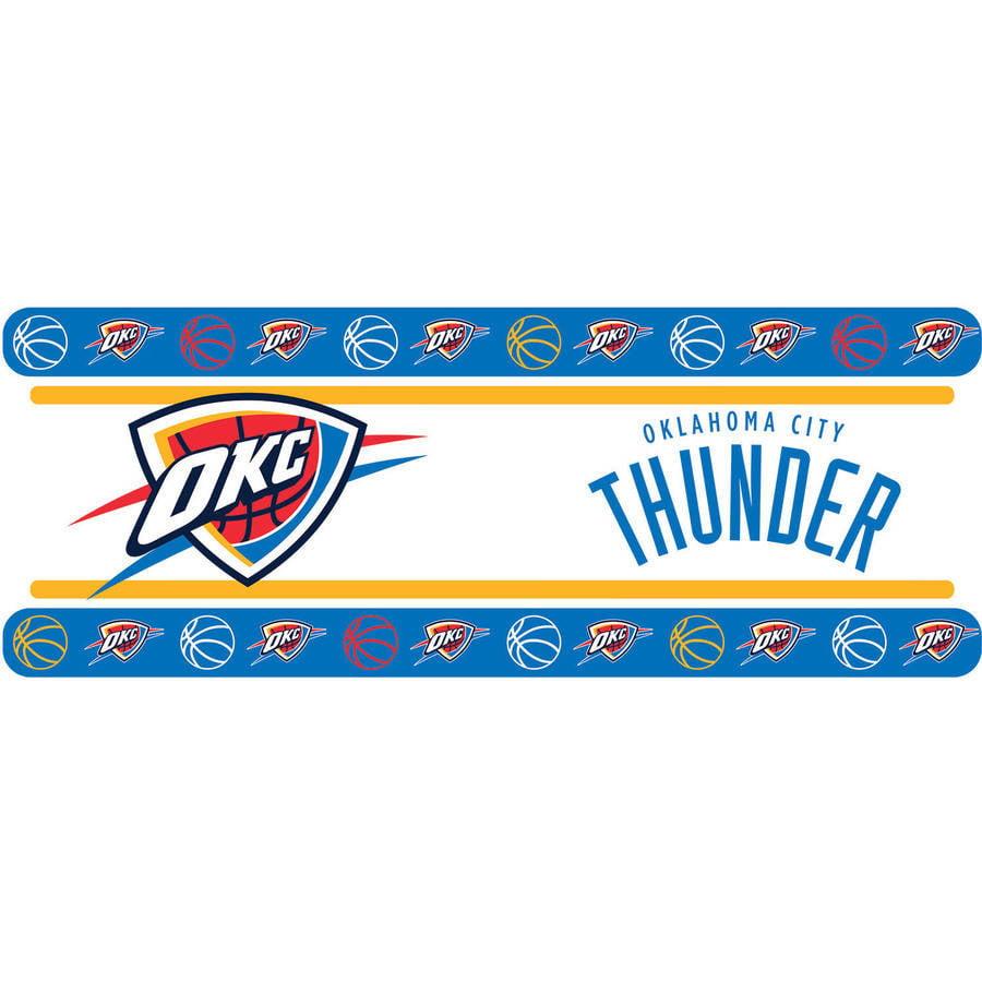 NBA Oklahoma City Thunder Wall Border