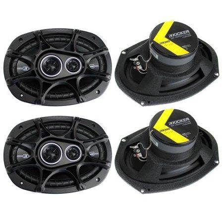 Kicker 41DSC6934 D-Series 6x9-Inch 360W Speakers (Best 6 Inch Speakers)