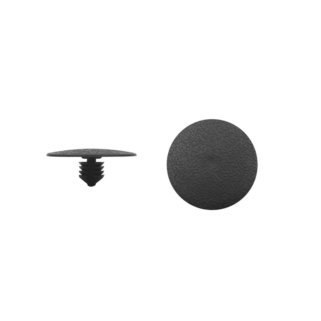 100Pcs 8mm Hole Dia Automobile Car Door Bumper Fender Plastic Rivets Fasteners - image 2 de 2