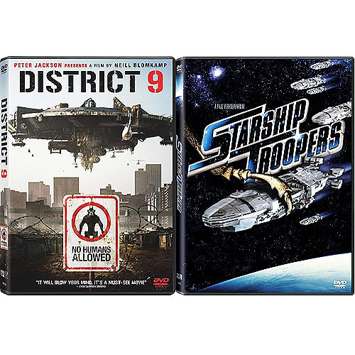 District 9 / Starship Troopers (2-Pack Exclusive) (Anamorphic Widescreen)