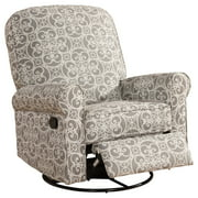 Best Home Furnishings Swivel Glider Recliners - Pulaski Ashewick Swivel Glider Recliner, Doodles Ash Review