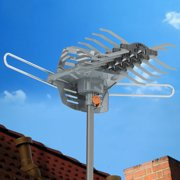Best Ota Antennas - Outdoor Digital HDTV Antenna Motorized 360 Degree Rotation Review