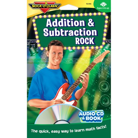 - ADDITION & SUBTRACTION ROCK CD & BOOK